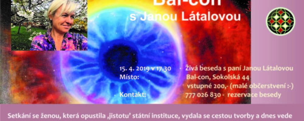 Setkání na Bal-coně s Janou Látalovou