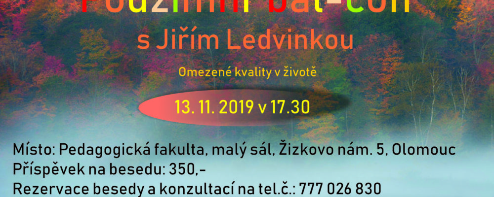 Beseda s Jiřím Ledvinkou